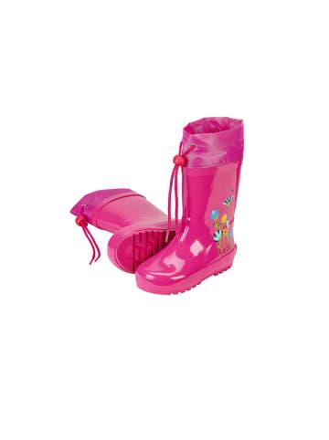 """Sterntaler Gummistiefel """"Blumen"""" in pink"""