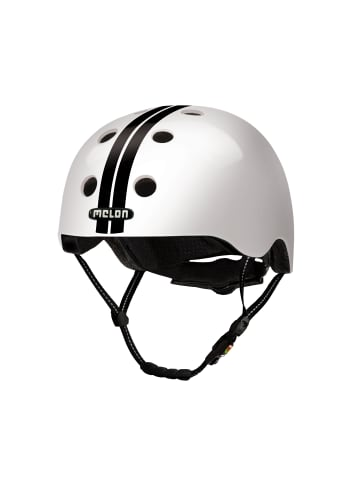 Melon Helmets Urban Active - Straight Black White