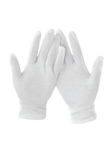 Axentia Handschuhe, 1 Paar in Weiß