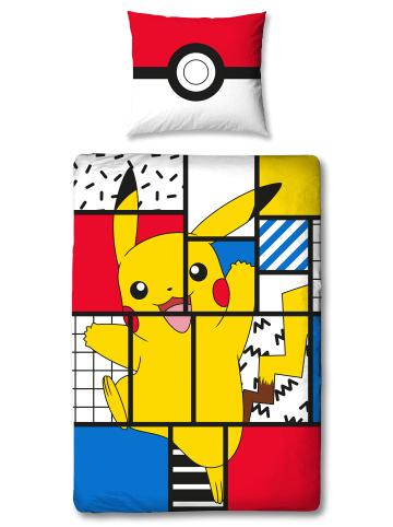 """Pokémon Kinder Bettwäsche-Set """"Pokémon Pikachu"""" in Bunt"""