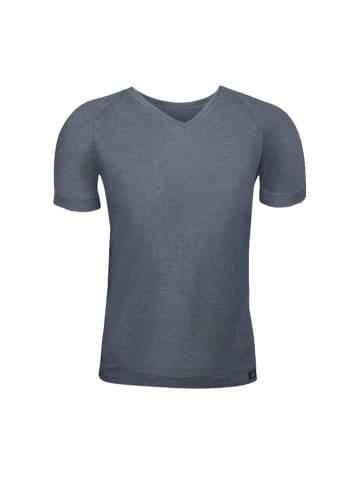 "ZD ZERO DEFECTS T-Shirt ""Ranglan"" in Graphit"