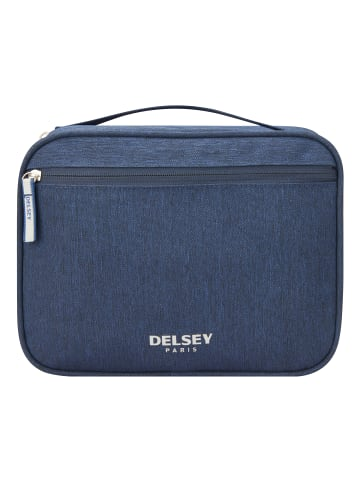 Delsey Essentials Kulturbeutel 26 cm in marineblau
