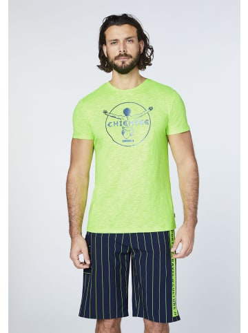 Chiemsee T-Shirt in Green Gecko