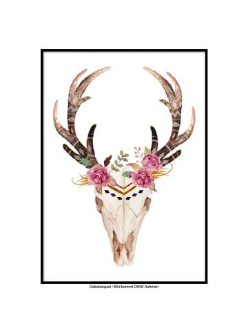 "SMART ART Kunstdrucke Kunstdruck / Poster ""Skull.2"" / A4 oder A3"
