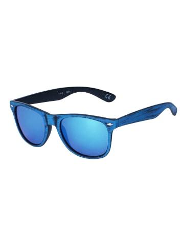 Six Sonnenbrille mit recyceltem Kunststoff in auffälliger Färbung in BLUE