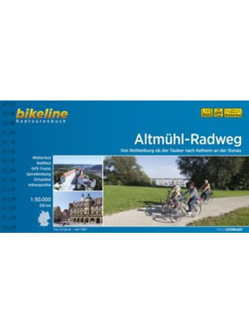 Esterbauer Bikeline Radtourenbuch Altmühl-Radweg