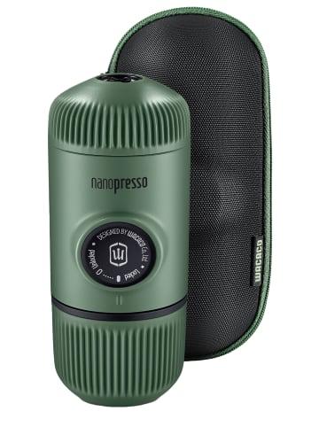 Wacaco Espressomaschine Nanopresso Moos Grün - tragbare Espressomaschine in moos grün