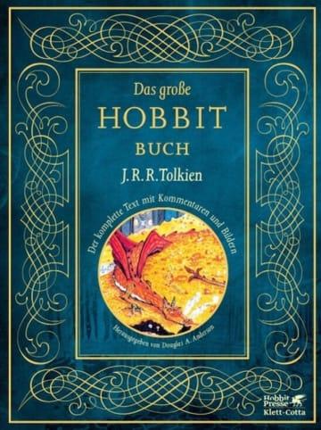 Klett-Cotta Das große Hobbit-Buch | Der komplette Text mit Kommentaren und Bildern