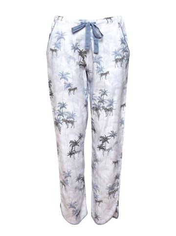 Cyberjammies Pyjamahose in Weiß/Multi