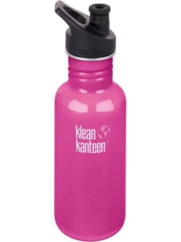 Klean Kanteen Edelstahl-Trinkflasche ® Classic Wild Orchid, 532 ml, Sport Cap
