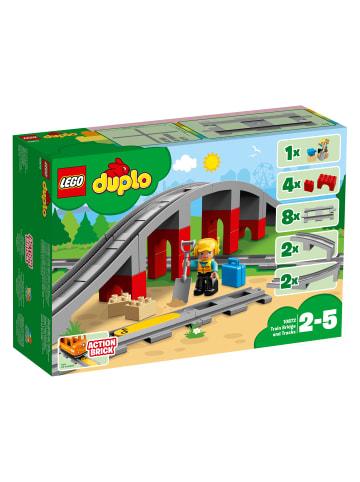 Duplo 10872 Eisenbahnbrücke und Schienen