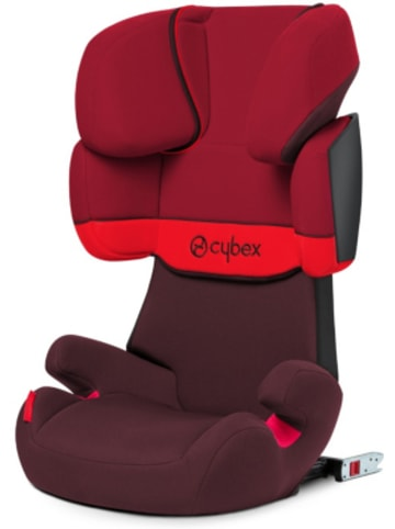 Cybex Auto-Kindersitz Solution X-Fix, Silver-Line, Rumba Red