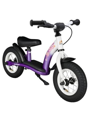 """BIKESTAR Kinder Laufrad """"Classic"""" in Lila Weiß - 10 Zoll"""