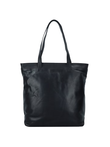 The Chesterfield Brand Wax Pull Up Bonn Shopper Tasche Leder 35 cm Laptopfach in schwarz