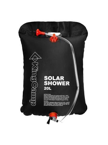 KingCamp Campingdusche Solar in black