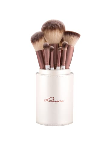 "Luvia Cosmetics 15-tlg. Set: Make-Up Pinsel ""Prime Vegan"" in Perlmutt/Coffee"