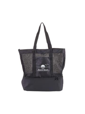 Butlers Strandtasche mit Kühlfach L 35 x B 14cm SKANÖR BEACH in schwarz