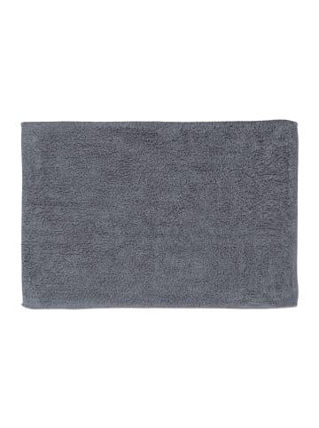 Relaxdays Badteppich in Grau - (B)50 x (T)80 cm