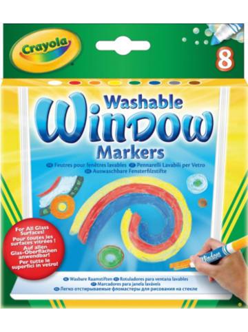 Crayola Fenstermalstifte, 8 Farben