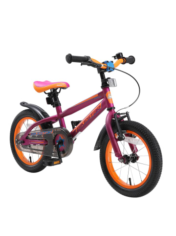 "BIKESTAR Kinder Fahrrad ""Urban Jungle"" in Berry - 14 Zoll"