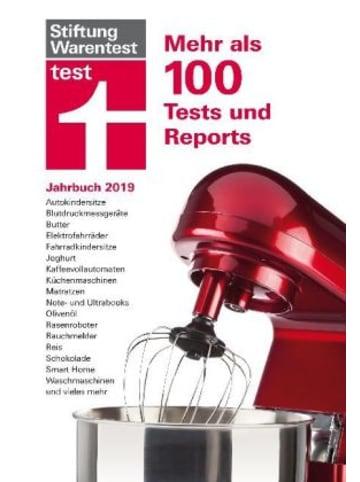 Stiftung Warentest test Jahrbuch 2019