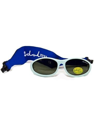 Bomio Sonnenbrille Idol Eyes ohne Bügel in hellblau