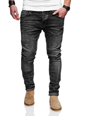 Rello & Reese  Jeans in schwarz