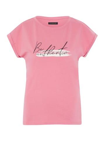 Oklahoma Premium Denim T-Shirt in 16-1731 Strawb. Pink