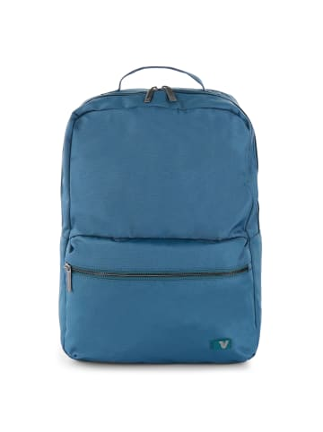 Roncato Brooklyn Revive Rucksack 41 cm Laptopfach in BLUE DENIM