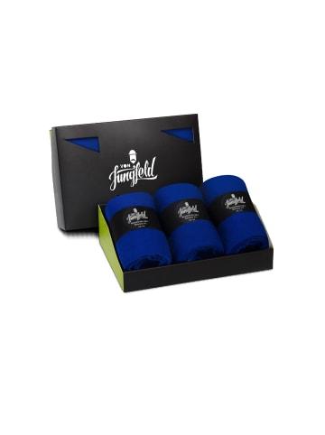 Von Jungfeld Socken 3er Pack in Royalblau
