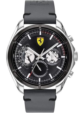 Scuderia Ferrari Multi Zifferblatt Uhr 'Speedracer' in Schwarz/Grau