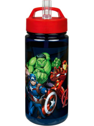 SCOOLI Aero Sport-Trinkflasche Marvel Avengers, 500 ml