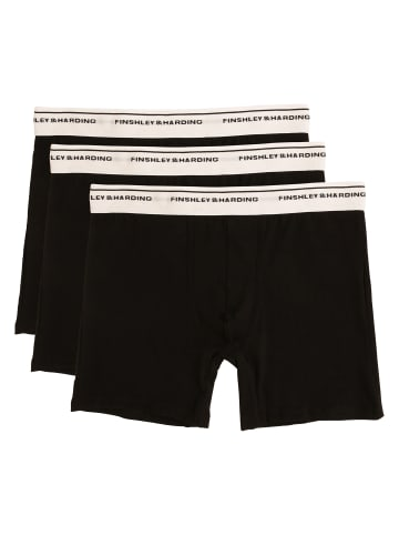 Finshley & Harding Boxershorts in schwarz