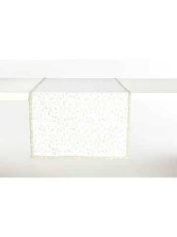 """IHR Ideal Home Range GmbH  Tischläufer (Textil) """"TILDA """" in grün 45X150 cm"""