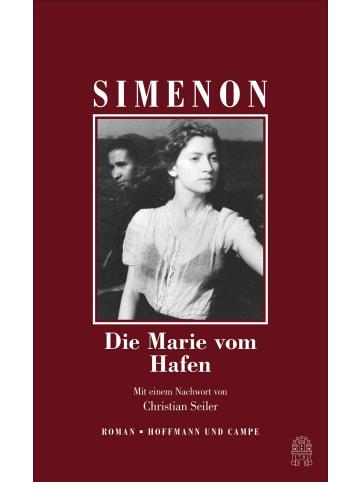 Hoffmann und Campe Die Marie vom Hafen | Mit einem Nachwort von Christian Seiler