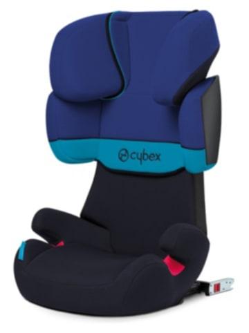 Cybex Auto-Kindersitz Solution X-Fix, Silver-Line, Blue Moon