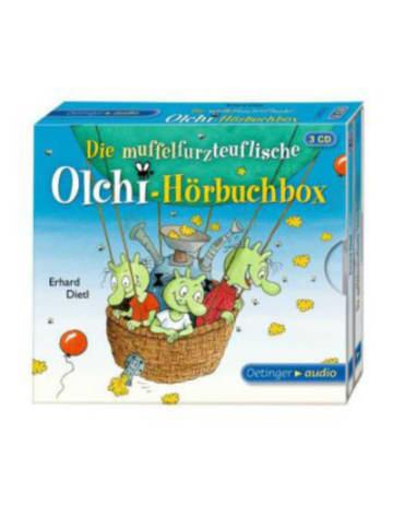 Verlagsgruppe Oetinger Die muffelfurzteuflische Olchi-Hörbuchbox, 3 Audio-CDs
