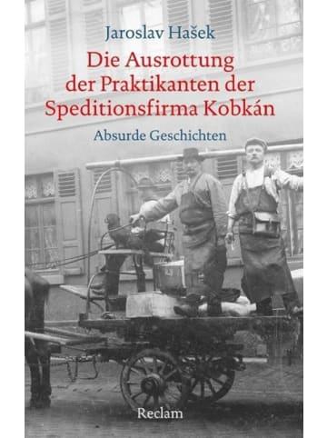 Reclam Verlag Die Ausrottung der Praktikanten der Speditionsfirma Kobkán | Absurde Geschichten