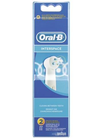 """Oral-B Aufsteckbürsten """"Interspace"""" (2er Pack)"""