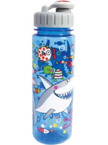 Partystrolche Trinkflasche Haifisch, 500 ml