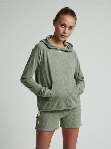 Hummel Sweatshirts & Hoodies Hmlzandra Hoodie in VETIVER MELANGE