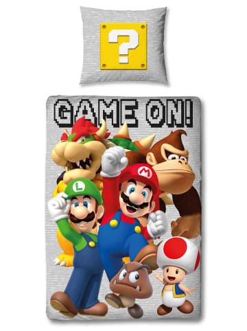 """Super Mario Jungen Bettwäsche-Set """"Super Mario & Friends"""" in Bunt"""