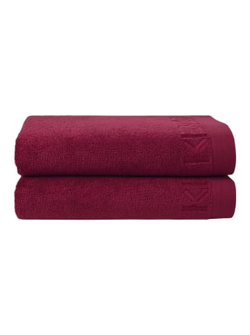 KENZO Home Badetuch ICONIC in berry