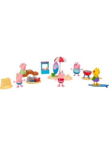 Jazwares PEPPA - Strandtag mit Familie Wutz Deluxe Spielset