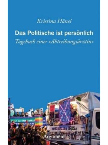 Argument Verlag Das Politische ist persönlich