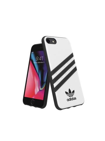"Adidas Moulded Case ""Moulded Case PU white/black"" für IPhone 6/6s/7/8/SE 2G in weiß"
