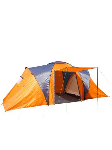 MCW Campingzelt Laagri für 4 Personen, Orange