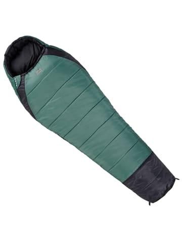 OPEN AIR Mumienschlafsack Mars in grün/schwarz