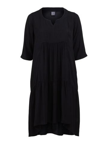 PONT NEUF mittellanges Oversize-Kleid Rigmor in schwarz