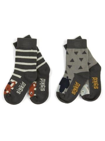"Sigikid Socken Set ""Tres Chic"" in Grau"